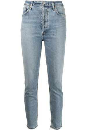 AGOLDE Skinny-Jeans mit hohem Bund