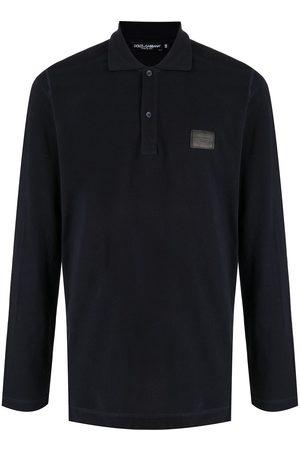 Dolce & Gabbana Langärmeliges Poloshirt