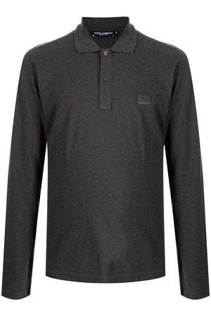 Dolce & Gabbana Herren Longsleeves - Langärmeliges Poloshirt