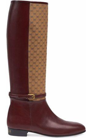 Gucci Kniehohe Stiefel mit GG