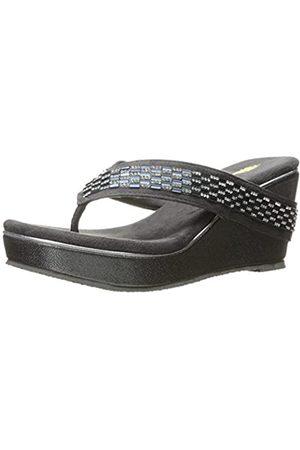 VOLATILE Damen Keilabsätze - Women's Carilla Wedge Sandal, CHARCOAL