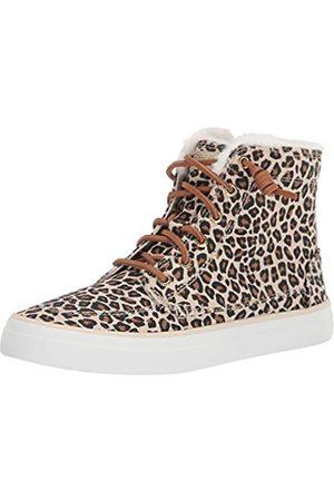 Sperry Damen Crest High Top Sneaker, (Hellbraunes Tier)