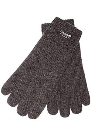 EEM Fashion EEM Damen Strick Handschuhe JETTE mit Thinsulate Thermofutter aus Polyester, Strickmaterial aus 100% Wolle; anthrazit