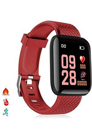 DAM Herren Uhren - ID116 Smart-Armband mit Bluetooth 4.0 Farbdisplay, Herzfrequenzmonitor, Pulsmesser