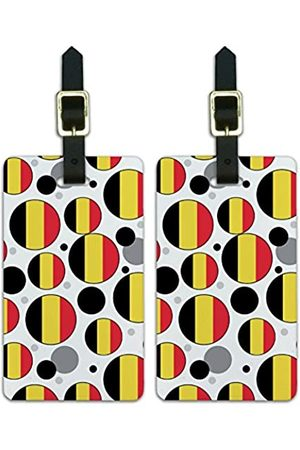 Graphics and More Graphics & More C-Belgium Nationalflagge - Luggage.Tags.09538