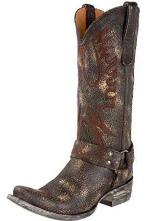 Old Gringo Damen Stiefel - Damen Adler Stiefel, Braun (schokoladenbraun)