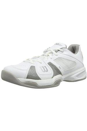 Wilson Damen Schuhe - Damen Rush Open W 6 Tennisschuhe, Mehrfarbig (White/White/Cool Grey)