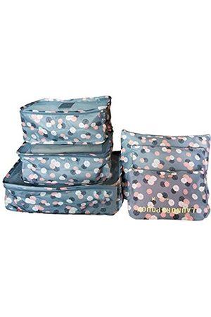 M-jump 6 Set Reise-Aufbewahrungstaschen Multifunktionale Kleidung Sortieren Pakete Reise Verpackung Kompression Tasche Gepäck Organizer Tasche