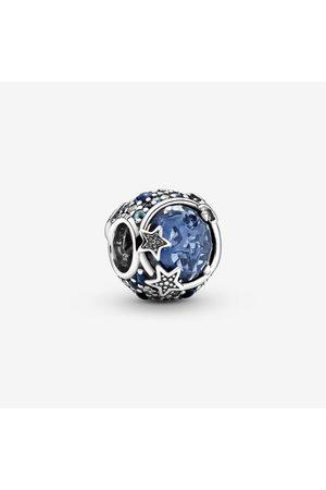 PANDORA Himlische blaue funkelnde Sterne Charm