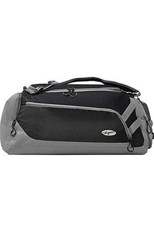 "Olympia Unisex-Erwachsene Blitz 22"" Convertible Gym Duffel W/Backpack Straps Seesack, Black+gray"