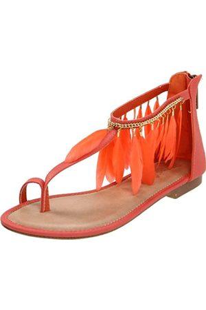 2 Lips Too Too Parrot Sandalen für Damen, Pink (Korallenrot)
