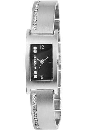 Akzent Damen Uhren - Damen-Uhren mit Metallband 185121000002