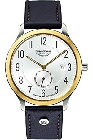 Bruno Soehnle Bruno Söhnle Herren Analog Quarz Uhr mit Leder Armband 17-23181-220