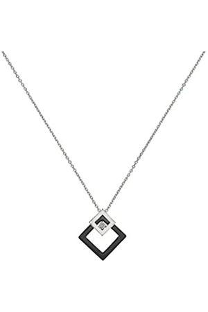 Ceranity Halskette mit Anhänger Sterling- 925 Diamant 0
