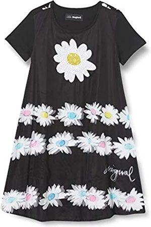 Desigual Girls Vest_Bruna Casual Dress, Black