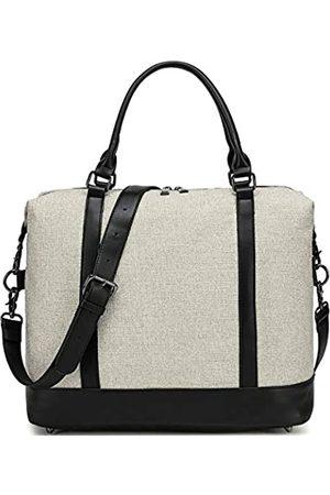 BLUBOON Damen-Reisetasche mit Trolleygriff (Wei�) - 287