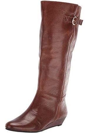 Steven By Steve Madden Damen Stiefel - Damen Boot modischer Stiefel, Cognac-Leder