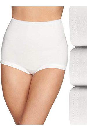 Vanity Fair Damen Lollipop Plus Size Cuff Leg Brief Panties 3 Pack 15867 Unterhose