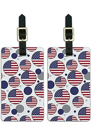 Graphics and More Graphics & More T-z-United States Nationalflagge - Luggage.Tags.09737