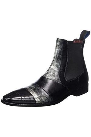 Melvin & Hamilton Herren Elvis 12 Chelsea Boots, (Black)