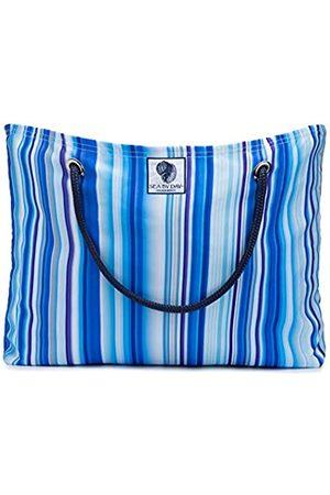 Sea By Day Solana Beach Große Strandtasche für Frauen, bunte