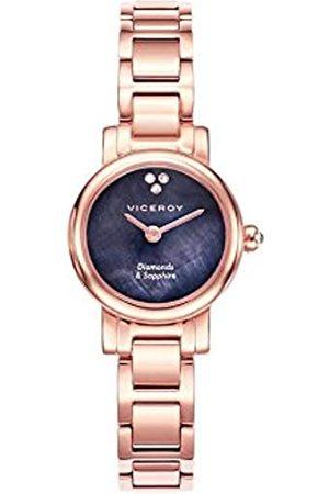 Viceroy Damen Uhren - DamenAnalogQuarzUhrmitEdelstahlArmband461078-50