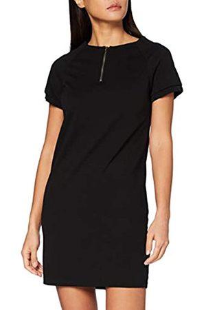 Mexx Womens Short Sleeve Black Dress
