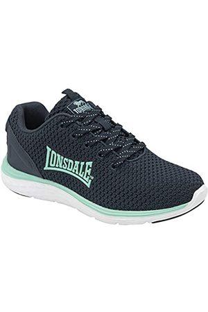 Lonsdale London Damen Schuhe - Damen Silwick Road Running Shoe, Navy/Sea Mist