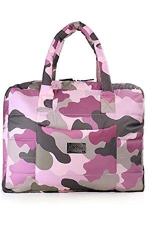 7 A.M. 7AM Voyage Plaza Handtasche – Große, leichte, stilvolle, wasserabweisende Tasche mit gepolsterten Trägern