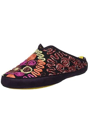 Nordikas Damen Hausschuhe - Damen Wash Pantoffeln, (Orquidea)
