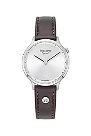 Soehnle Bruno Söhnle Damen Analog Quarz Uhr mit Echtes Leder Armband 17-13213-251
