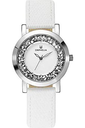 Orphelia Damen Uhren - Damen-Armbanduhr Hermosa Analog Quarz Leder