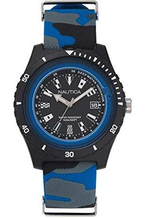Nautica Uhren - Unisex Erwachsene Quarz Uhr mit Silikon Armband NAPSRF009