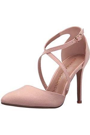 ATHENA Damen Sandalen - Monett Damen-Sandalen, Pink (Veloursleder )