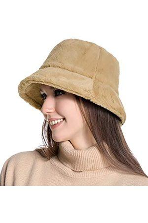 Muryobao Wintermütze für Damen, warme Hüte, Vintage-Stil, Kunstfell