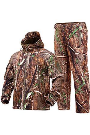 STARTAIKE Jagdausrüstung Anzug für Herren Camouflage Jagd Hoodie Jacke Winddicht Echt-Tree Camo, Herren