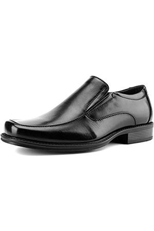 Temeshu Herren Moc Toe Slip-on Loafers Casual Formal Kleid Schuhe Komfort Gepolstert Oxford