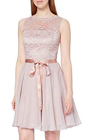 Swing Damen Cocktail Kleid mit floraler Spitze