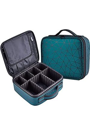 Darslyn Damen Koffer - Reise-Make-up-Tasche, Kosmetiktasche, Organizer für Damen, mit verstellbaren Fächern für Make-up-Pinsel, Kulturbeutel, Schmuck