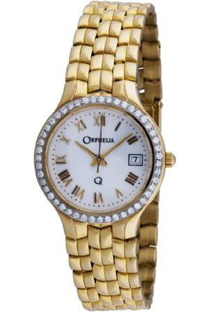 Orphelia Damen-Armbanduhr 18 Karat 750 Gelbgold & Diamond 48.9 Gramm mon-7018