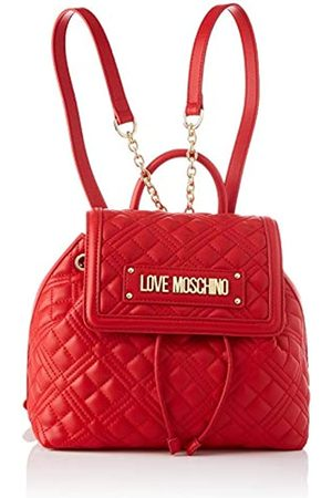 Love Moschino PreCollection SS46 Damen PU Rucksack New Shiny Quilted Medium
