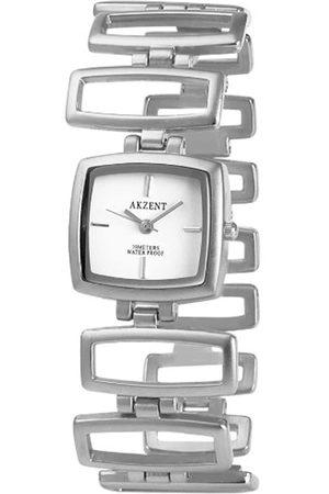 Akzent Damen Uhren - Damen-Uhren mit Metallband SS7122000075
