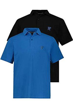 JP 1880 Herren große Größen bis 7XL, Poloshirts, 2er-Pack, Piqué, Seitenschlitze
