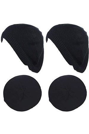 BSB JTL Baskenmütze für Damen, modisch, leicht, gestrickt