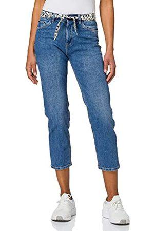 Springfield Jeans Vintage Straight Pantalones, Azul Medio