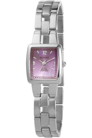 Akzent Damen Uhren - Damen-Uhren mit Metallband SS7123800085