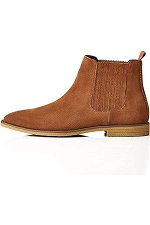 FIND Herren Atwood_HS01 Chelsea Boots Stiefel, (Tan)