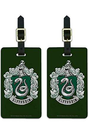 Graphics and More Gepäckanhänger mit Harry Potter Slytherin-Wappen
