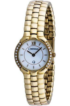 Orphelia Damen Uhren - Damen-Armbanduhr 18 Karat 750 Gelbgold & Diamond 46.7 Gramm mon-7016