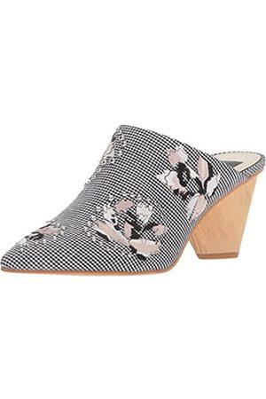 Dolce Vita Damen Clogs & Pantoletten - Women's Asia Mule, Black/White Fabric